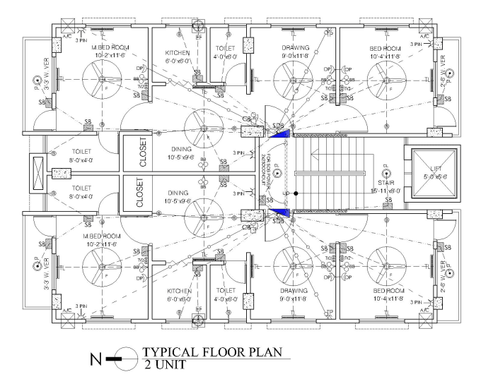 electrical plan autocad file