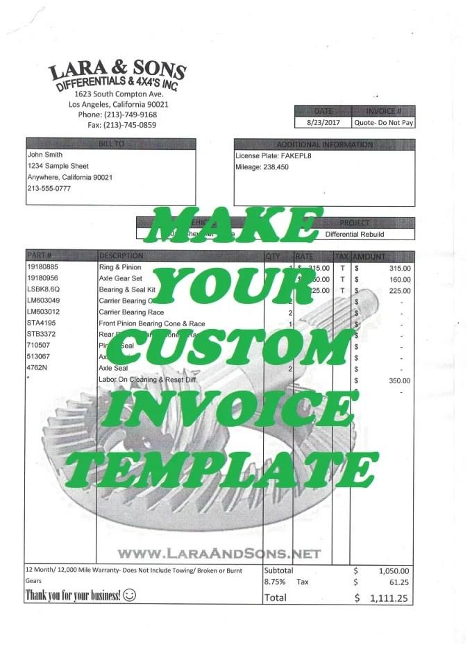 Create a custom invoice template using microsoft excel by Eliaslns - ms custom invoice template