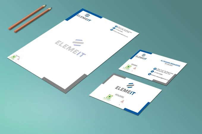 Design simple and nice looking professional letterhead by Kmitho