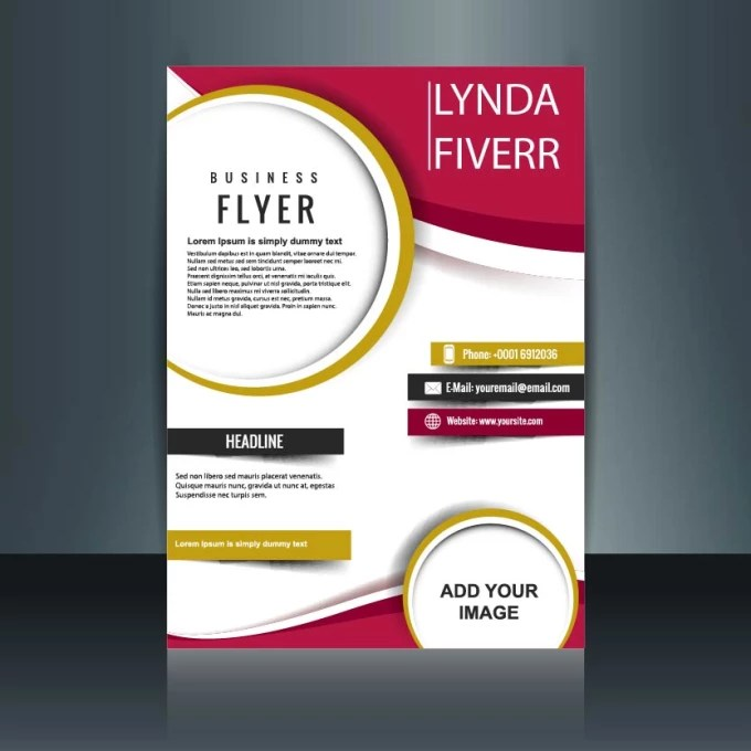 Design classy company flyers and brochures by Lynda_cartoon