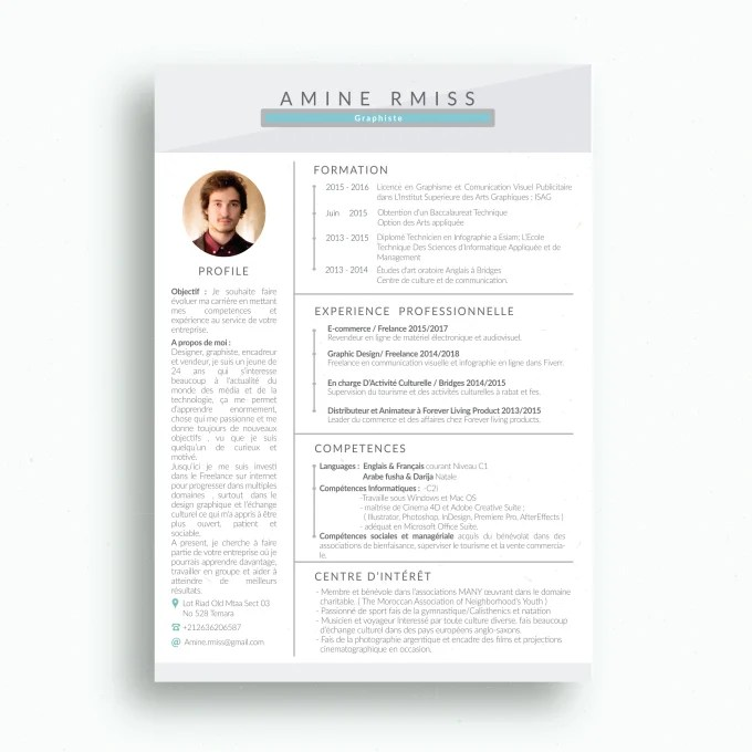 Get you hired by making the best resume for you by Aminermiss
