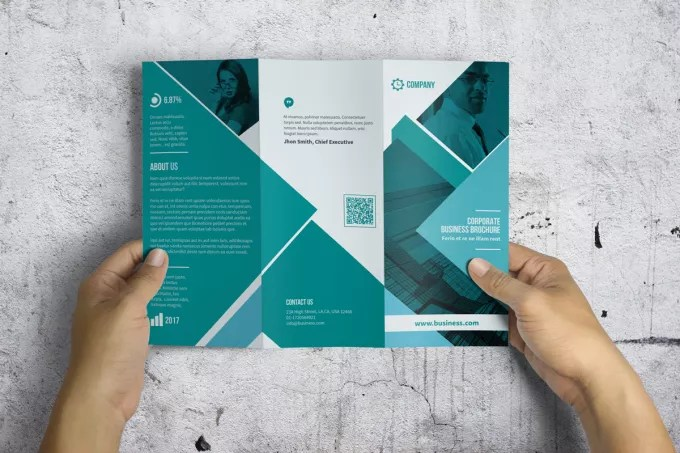 Create trifold brochure for you with indesign by Hemonto81