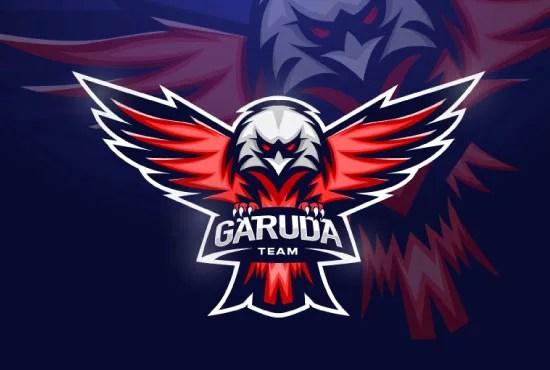 I will design your sport, esport, gaming team logo