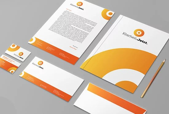 Do corporate stationery for your business by Ataur69