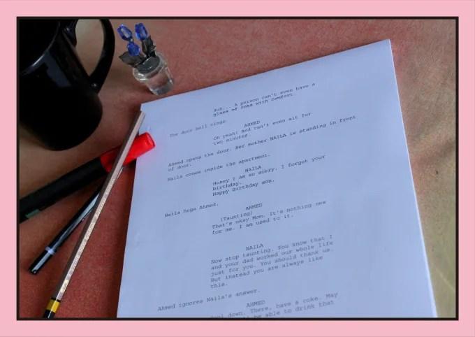 Do script writing with proper format by Amnajabeenaj