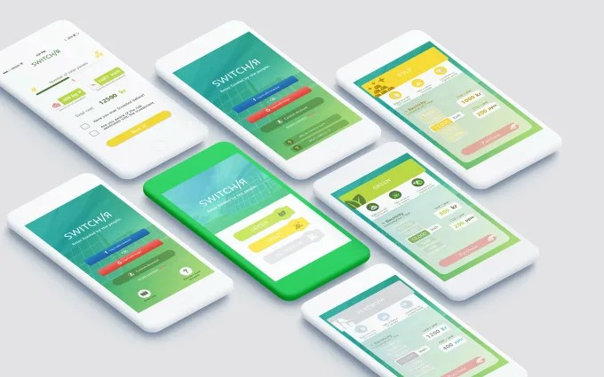 Design any app ui mockup by Amigraphics