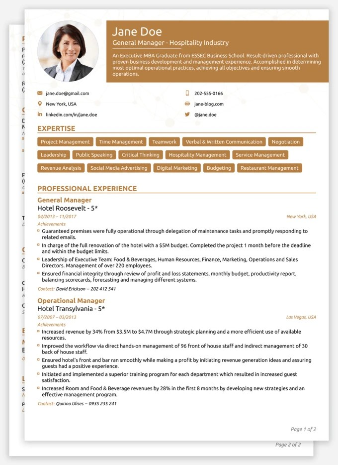 Write a full length cv and cover letter by Estheroye