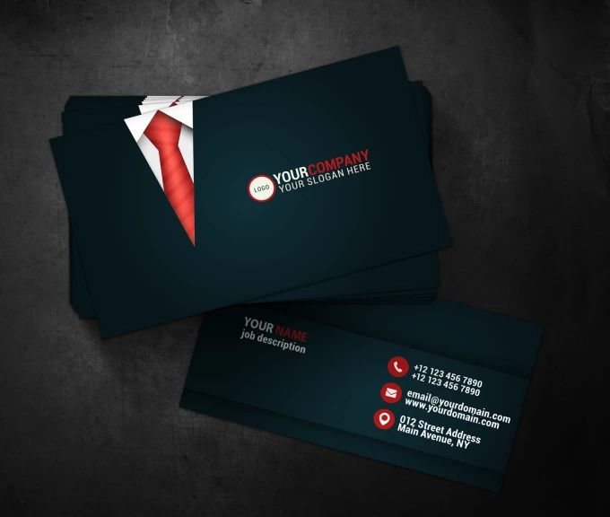 business card layouts