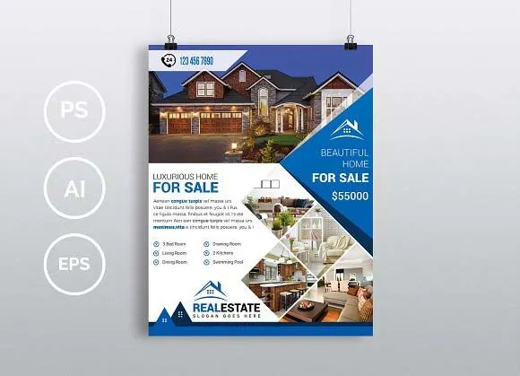 Design flyer a beautiful selling real estate by Kamranbhutto - selling flyer