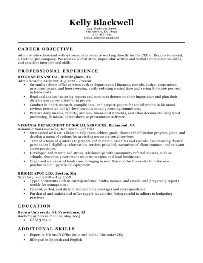 Get an impressive resume for your job interview by Kadedrah