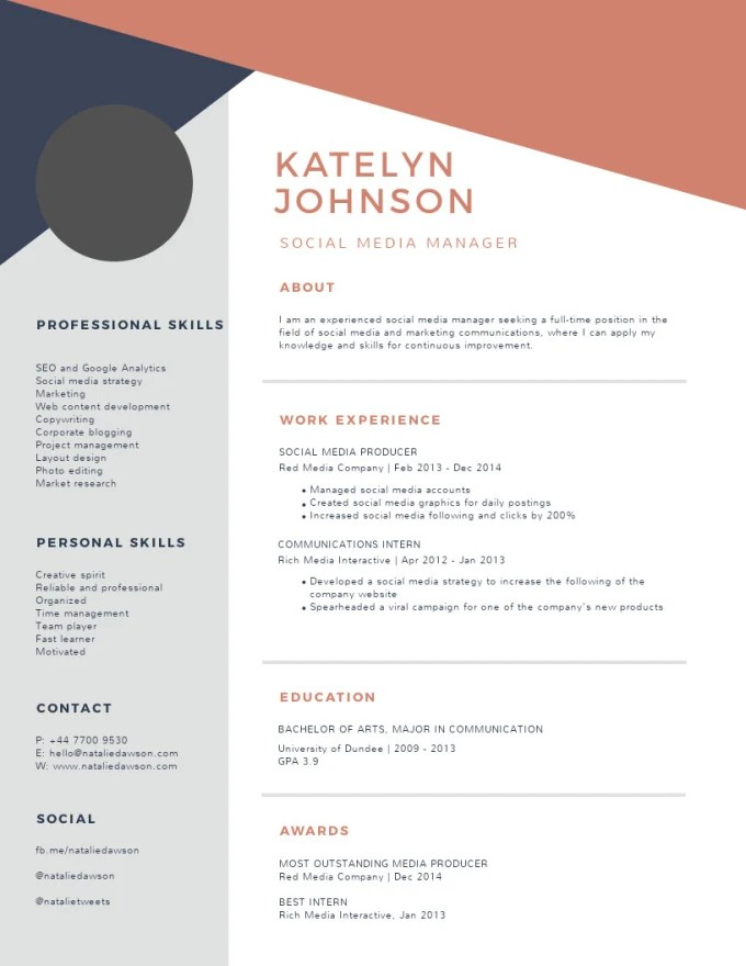 Write professional resume, design resume, cover letter, cv by