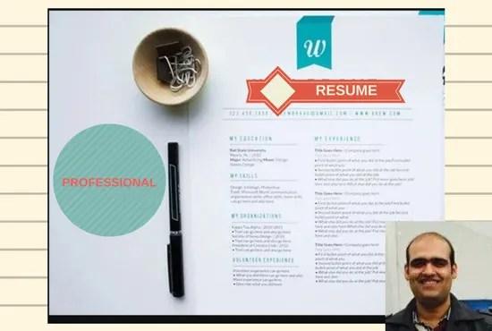 Write resume, cover letter, linked inn perfectly by Alikhanleghari