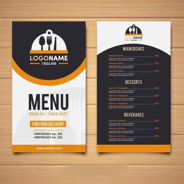 Design elegant restaurant menu,food menu cards by Waqasx78
