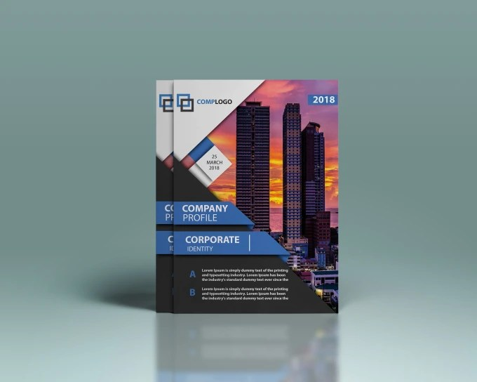 Design professional company profile and business profile by Nochiketa