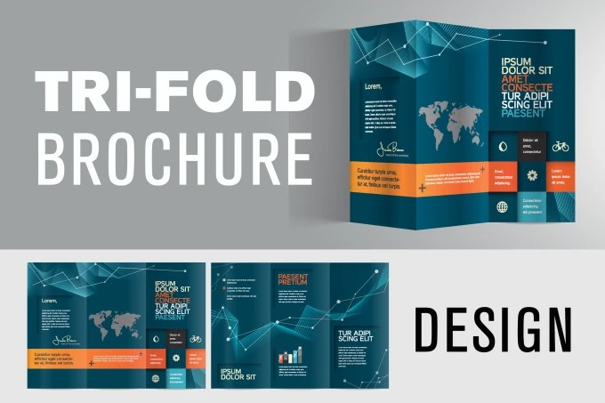 Create trifold brochure design by Kevin_la