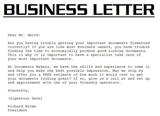 Write business letters and can do email correspondence by Varsharaut