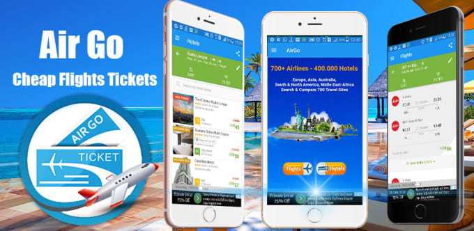 Make hotel and flight booking app for you by Ibnoecalm
