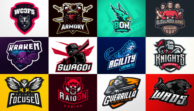 Make a stunning, gaming logo for your social media profile by