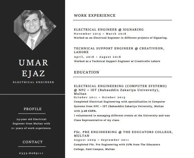 Make you an outstanding resume, cv by Engineeratwork