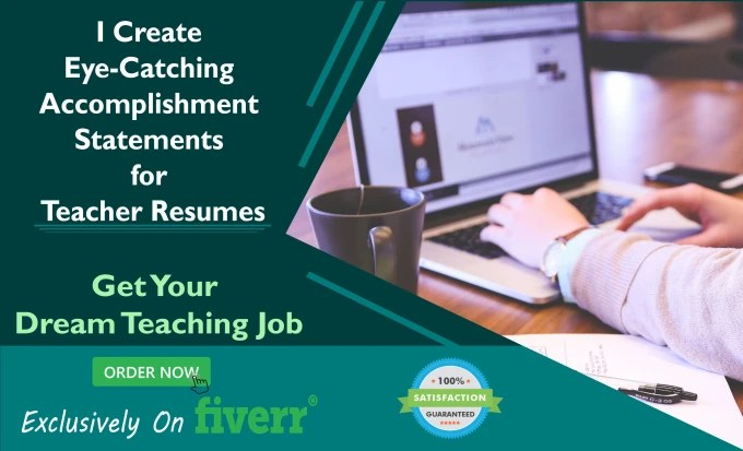Create strong accomplishment statements for your teacher resume by
