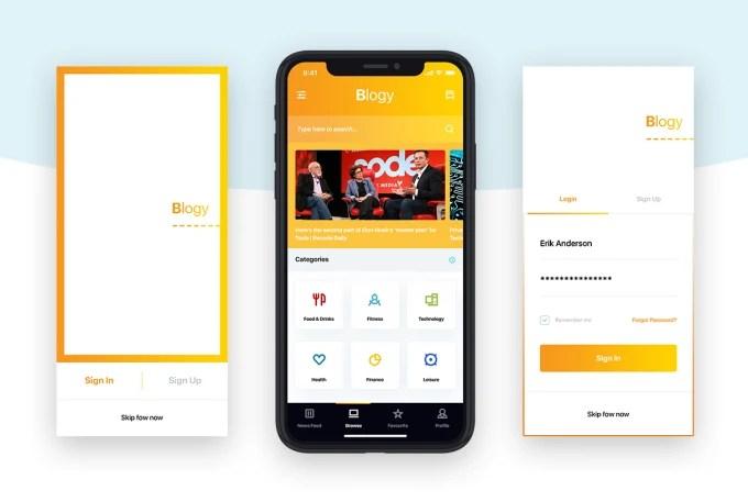Mobile app ui design iPhoneX iPhone iOS App design