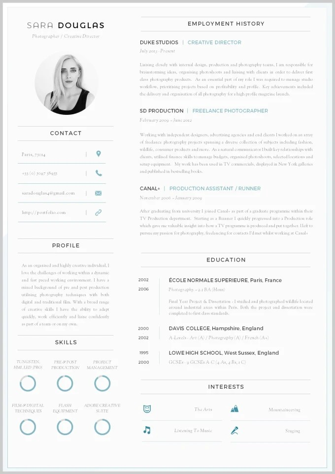 Write effective eye catching resume and cv for you by Naima_awan