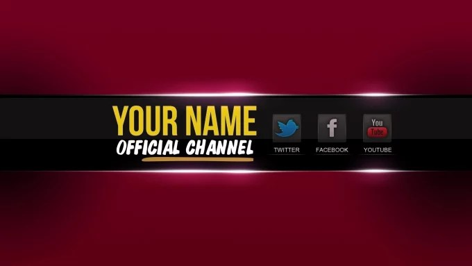 Make your youtube channel art by Superservicies