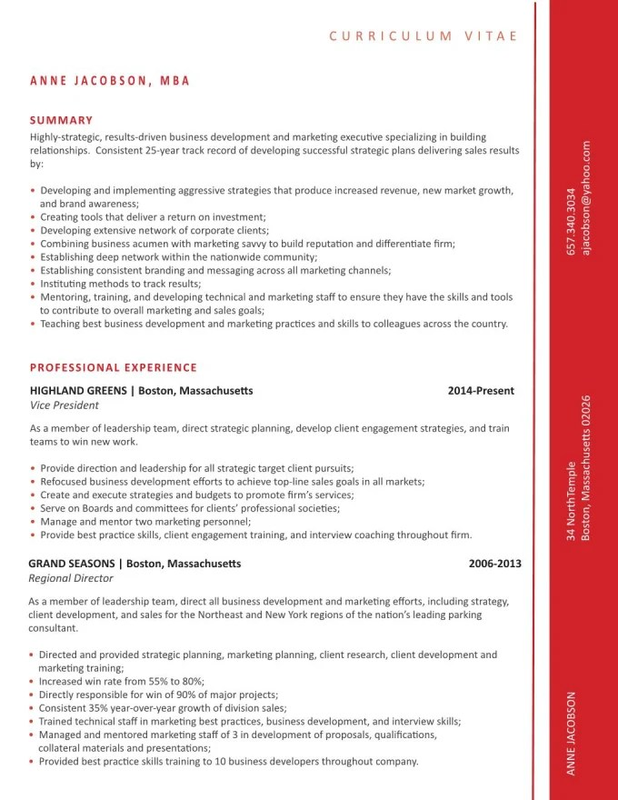 Create a killer resume or cover letter that will stand out by