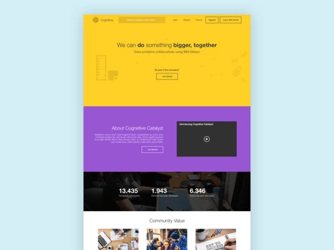 Create awesome responsive landing page by Msal_78