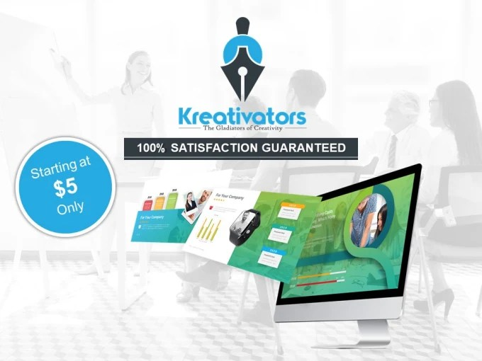Create impressive powerpoint presentation designs by Kreativator