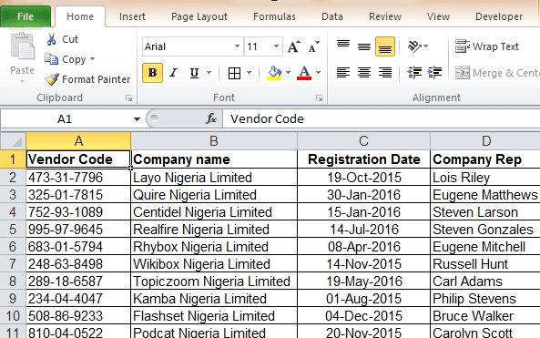 Do excel spreadsheet, excel formula and data entry by Zain141998