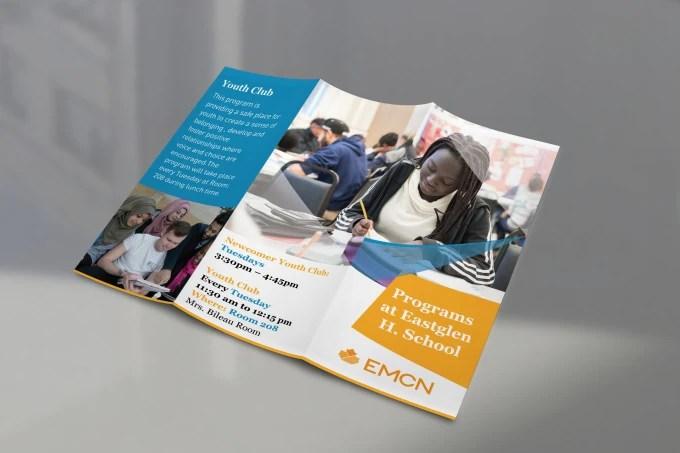Create tri fold brochure design by Designershojol