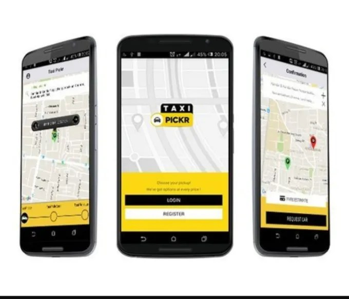 Do taxi booking app in android and ios by Mkidooi124 - booking app