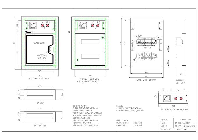 11kv control panel wiring diagram