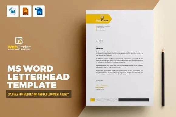 Do modern letter head design by Shariqsaleem