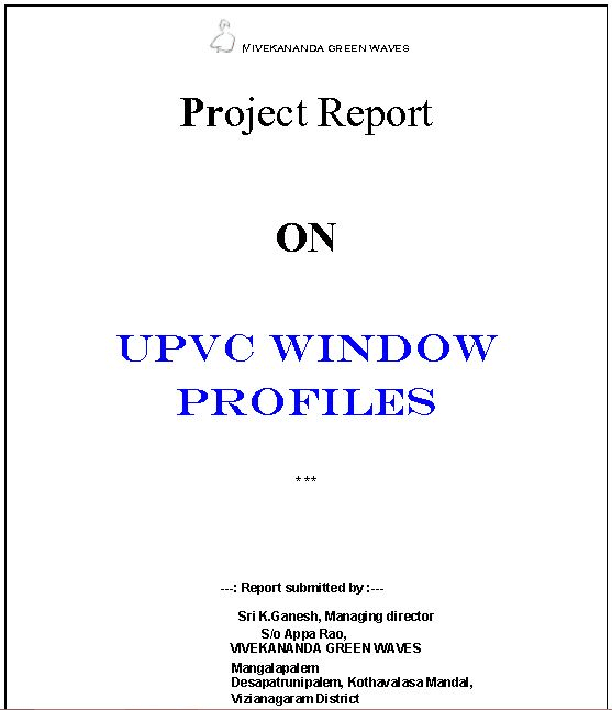 Do new business project proposal reports by Kkganeshmgp