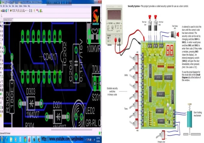 Design pcb layout and schematic on eagle and altium designer by