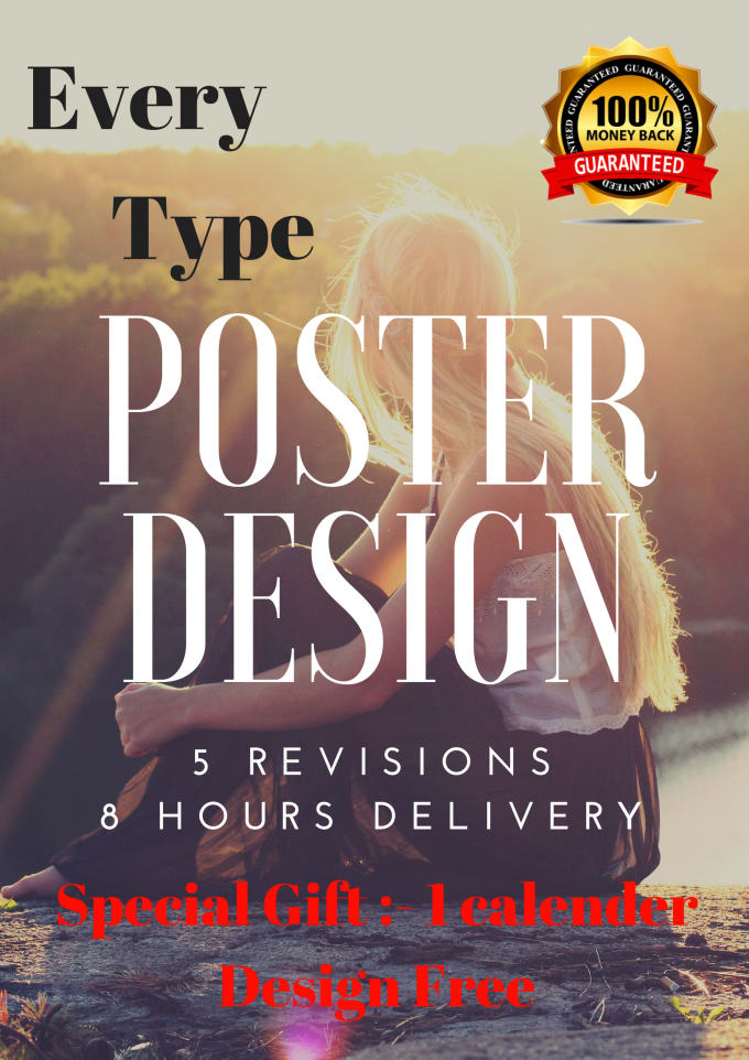 Do professional poster, flyer and calendar by Kishan293