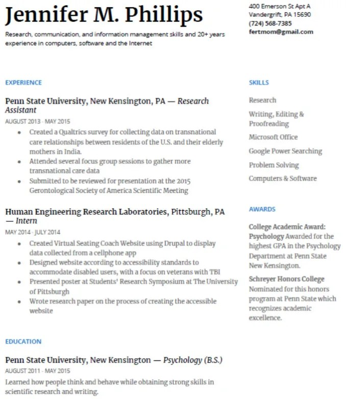 Edit or create your resume,cv and cover letter by Jmphillips98