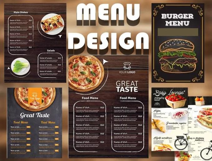 Design a modern restaurant menu and menu board design by Hajarmed