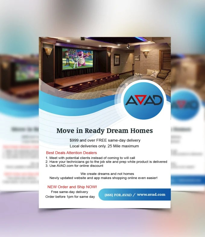 Design business flyer and print ad by Arafat26