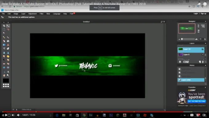 Create you a really cool channel art or background by Bakhtiyorzz