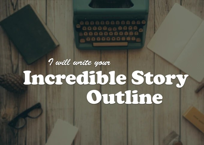 Write your story outline by Kerrieg91