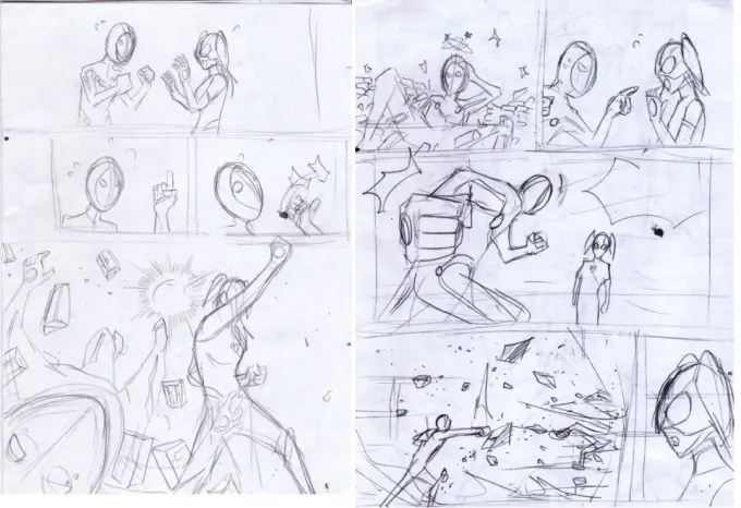 Tranform your script in to amazing storyboard or comic manga by