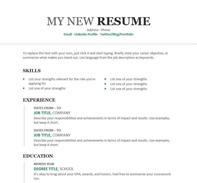 Assist with professional resume writing or editing by Nikkita09