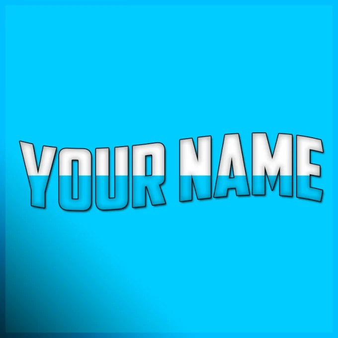Create a simple but cool youtube profile picture by Xcrossy