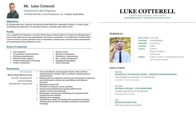 Updating or creating your cv and cover letter by Lukecotterel599