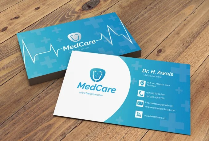 Design amazing and beautiful business card for you by Graphics_knight