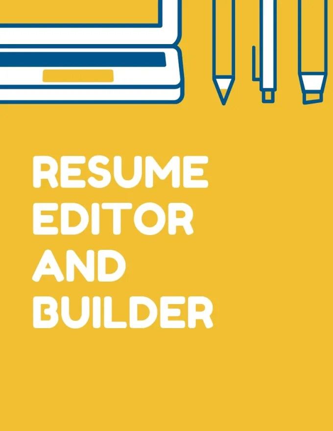 College student and entry level resume builder by Sydneycg