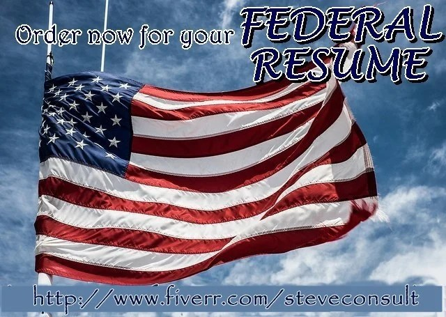 Provide usajobs and federal resume writing service by Steveconsult